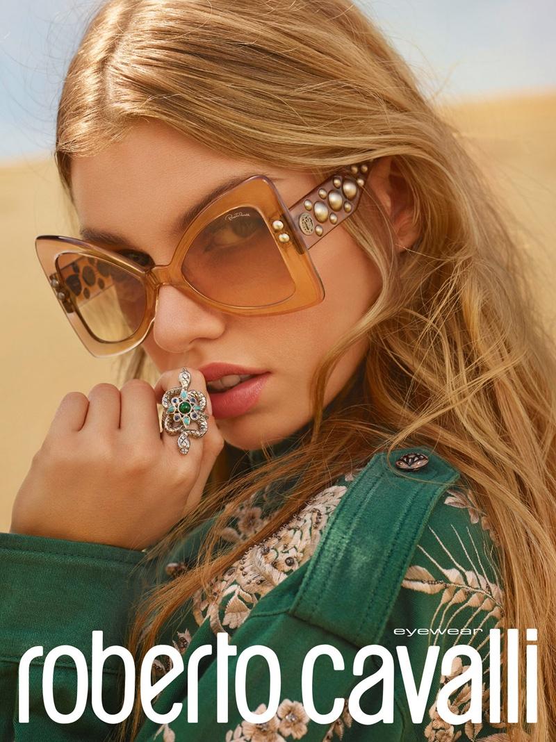 Roberto Cavalli eyewear spring-summer 2017 campaign