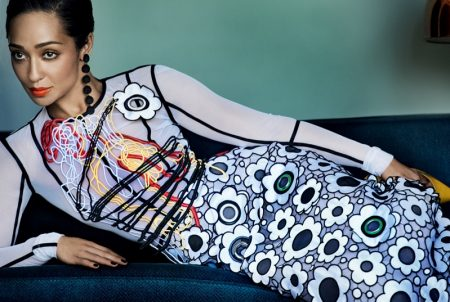 Ruth Negga Embraces Bold Prints in Vogue Cover Shoot