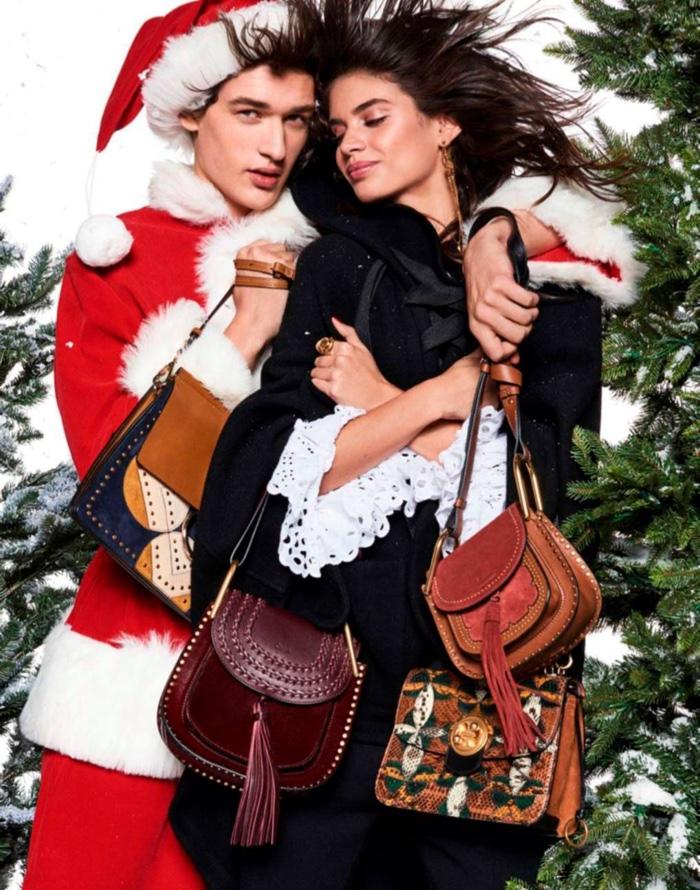 Sara Sampaio stars in Vogue Paris' December-January issue