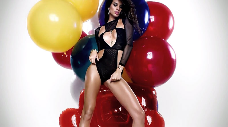 Sara Sampaio Sizzles in Her LOVE Calendar Debut