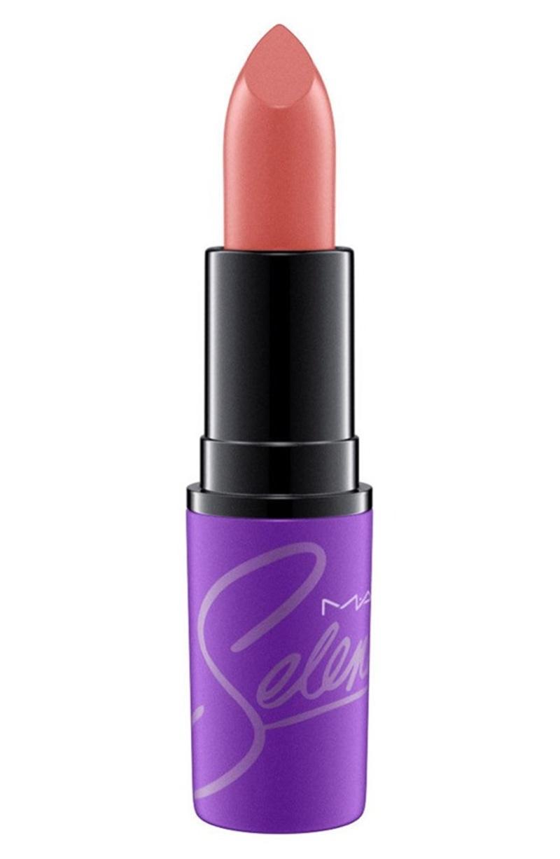 Selena x MAC Lipstick in Amor Prohibido