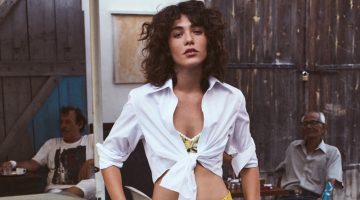 Steffy Argelich Models the Resort Season's Best Looks for The Edit