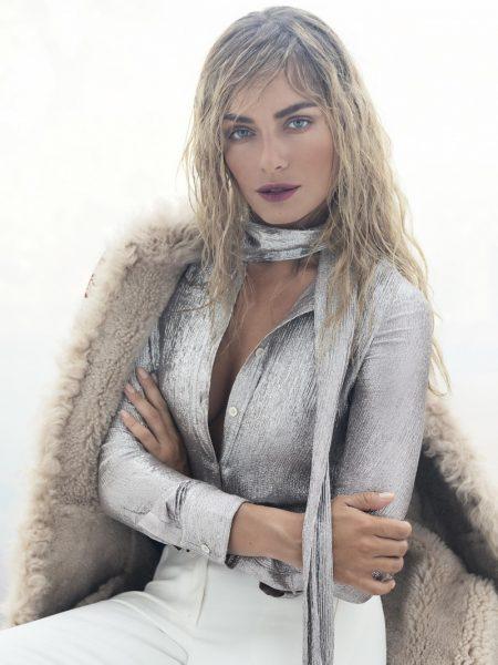 Tatana Kucharova Has a Bohemian Moment in Tory Burch for InStyle Czech