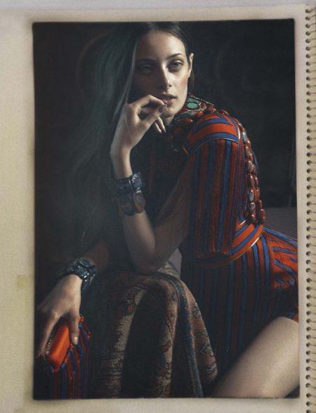 Thairine Garcia Looks Like a Work of Art in Glamour Italy