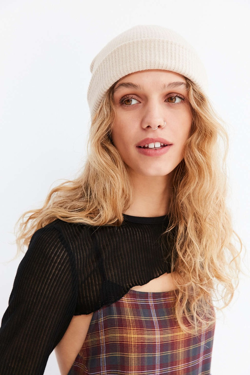 Urban Outfitters Classic Knit Beanie