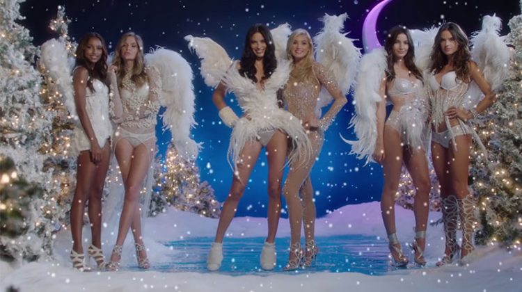 Victoria's Secret Angels Celebrate Christmas with 'Santa Baby' Video