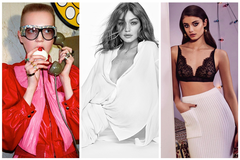 Week in Review | Taylor Hill's Latest Cover, Gigi Hadid for Stuart Weitzman, Gucci's Spring Campaign + More