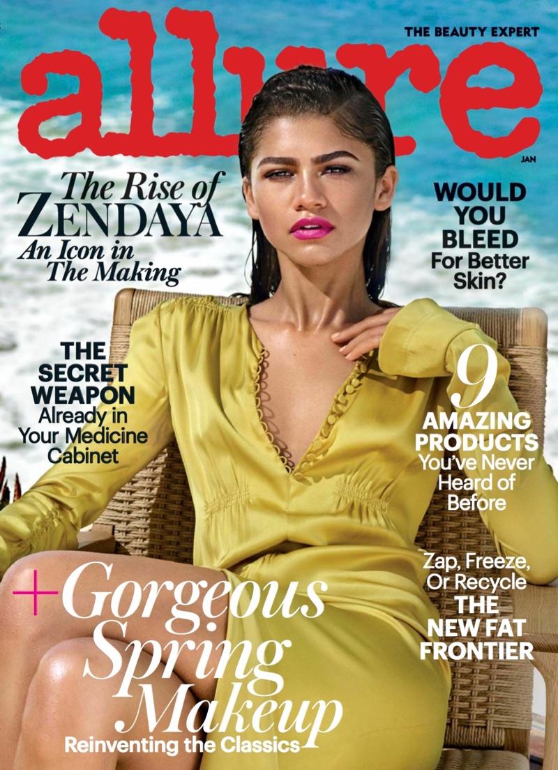 Zendaya on Allure Magazine January 2017 Cover