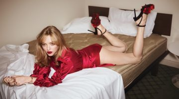 Amanda Seyfried Heats Up the Bedroom for Vogue Australia