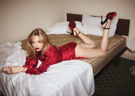 Amanda Seyfried Heats Up the Bedroom for Vogue Australia