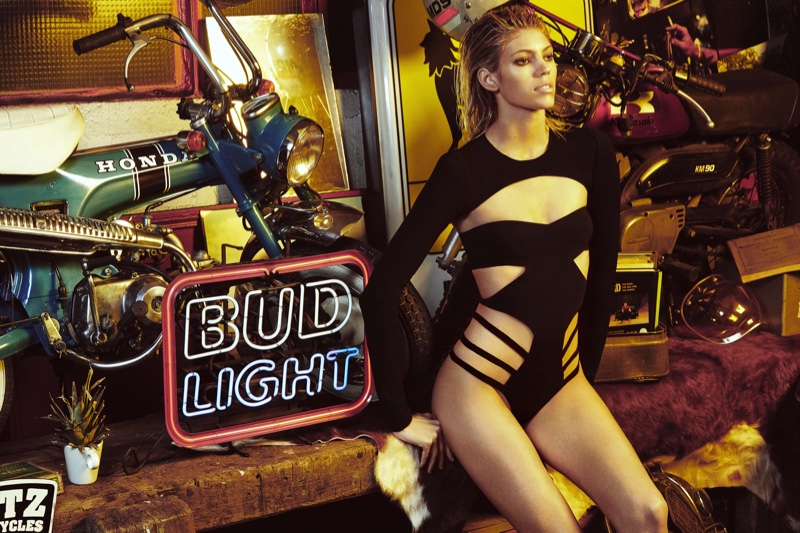 Devon Windsor Models Anais Mali's Debut Bodysuit Line – See the Looks!