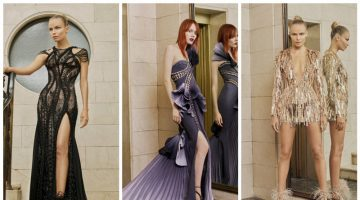 Atelier Versace Delivers Ultra-Glam Style for Spring 2017