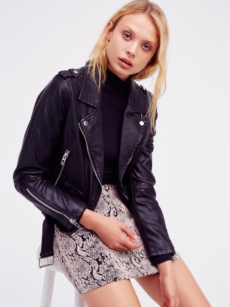 Vegan leather jacket nyc