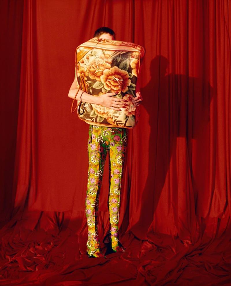 Balenciaga features floral prints in spring-summer 2017 campaign