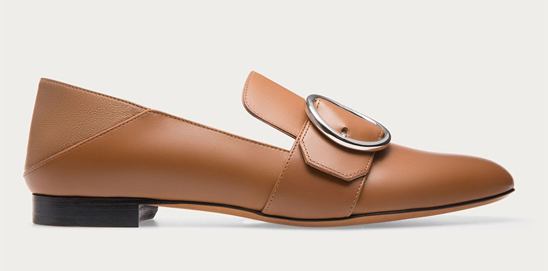 Bally Lottie Slipper in Dark Tan