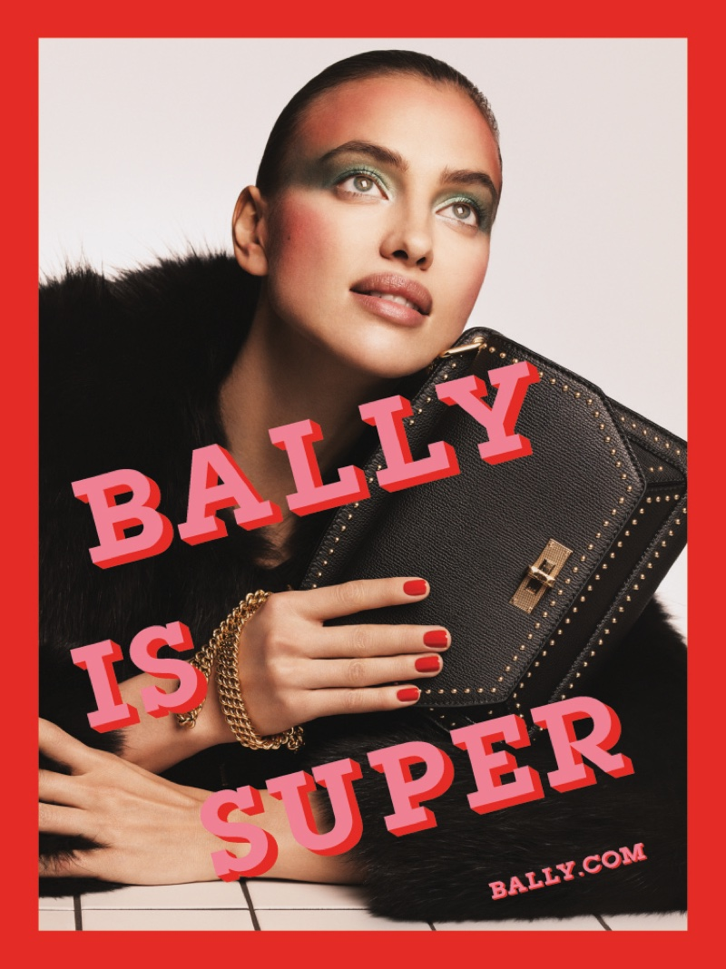 Irina Shayk stars in Bally's spring-summer 2017 campaign