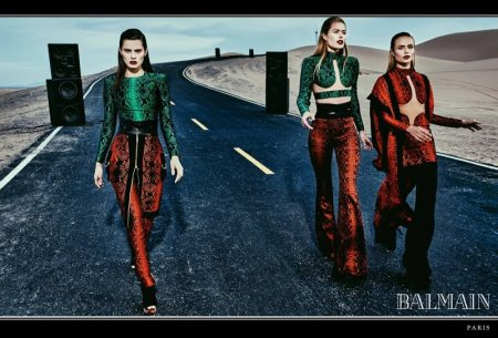 Balmain Hits the Road with Spring 2017 Campaign