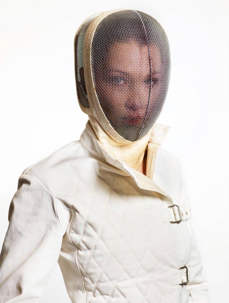 Bella Hadid stars in Vogue Paris' February issue