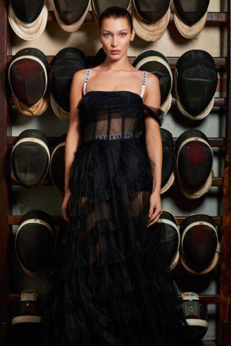 Bella Hadid Looks Divine in Dior for Vogue Paris