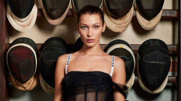 Bella Hadid Looks Divine in Dior for Vogue Paris