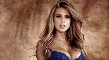 Charlotte McKinney Strips Down for Guess Underwear Campaign
