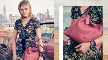 Chloe Grace Moretz Stars in Coach's Spring 2017 Campaign