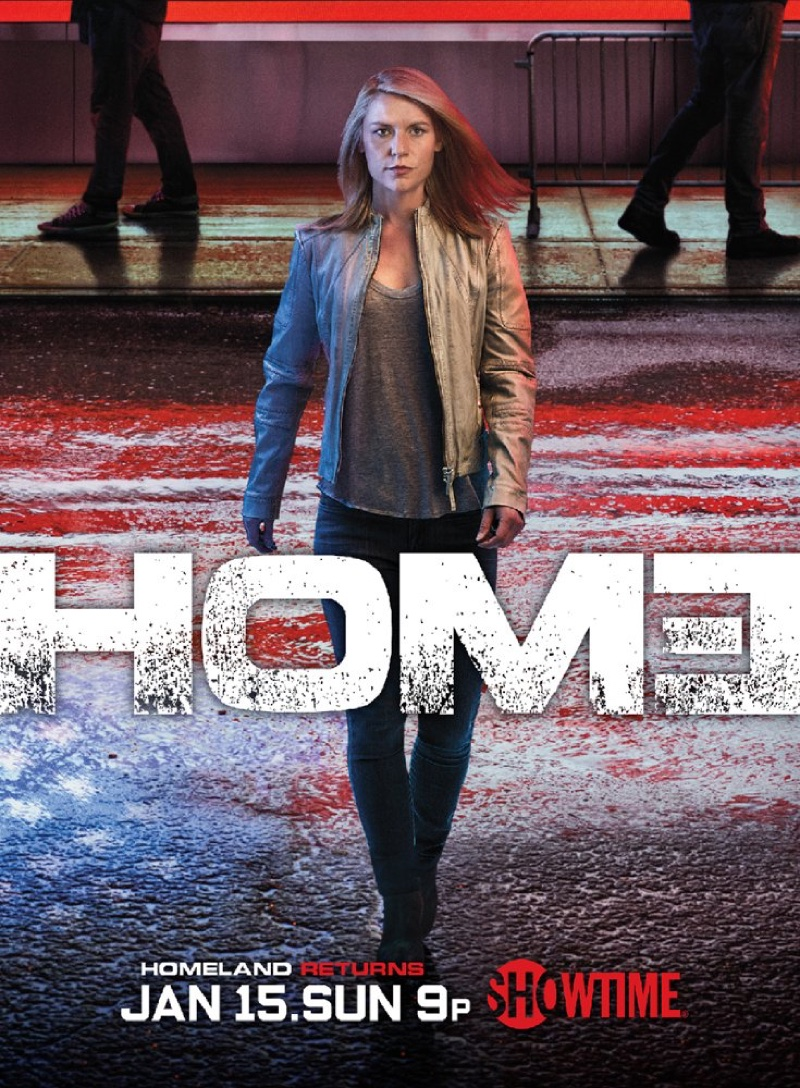 Homeland season 6 poster with Claire Danes