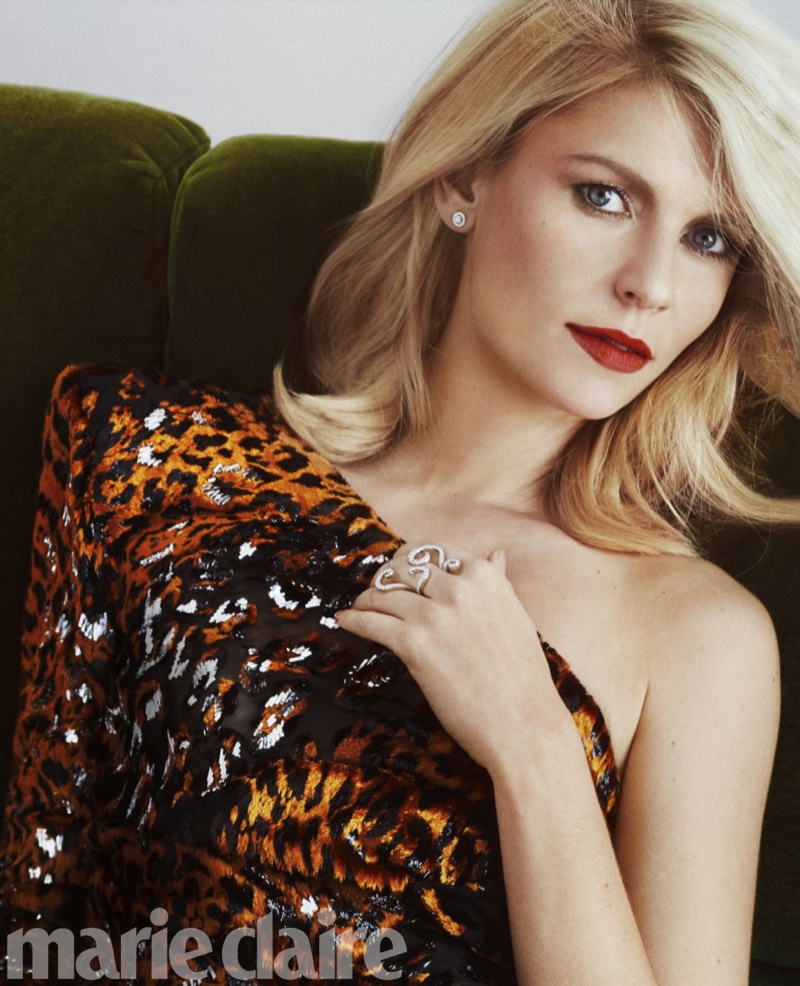 Claire Danes Turns Up the Glam Factor in Marie Claire