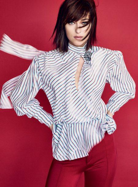 Dakota Johnson Looks Chic in Second Vogue Cover Shoot