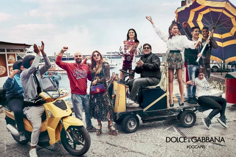 Thylane Blondeau, Sonia Ben Ammar and Zendaya star in Dolce & Gabbana's spring-summer 2017 campaign