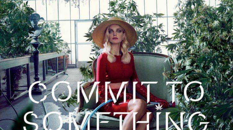 Jessica Stam stars in Equinox's 2017 campaign