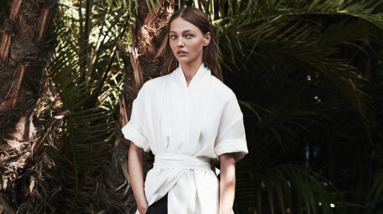 Sasha Pivovarova Stars in FRAME's Spring 2017 Campaign