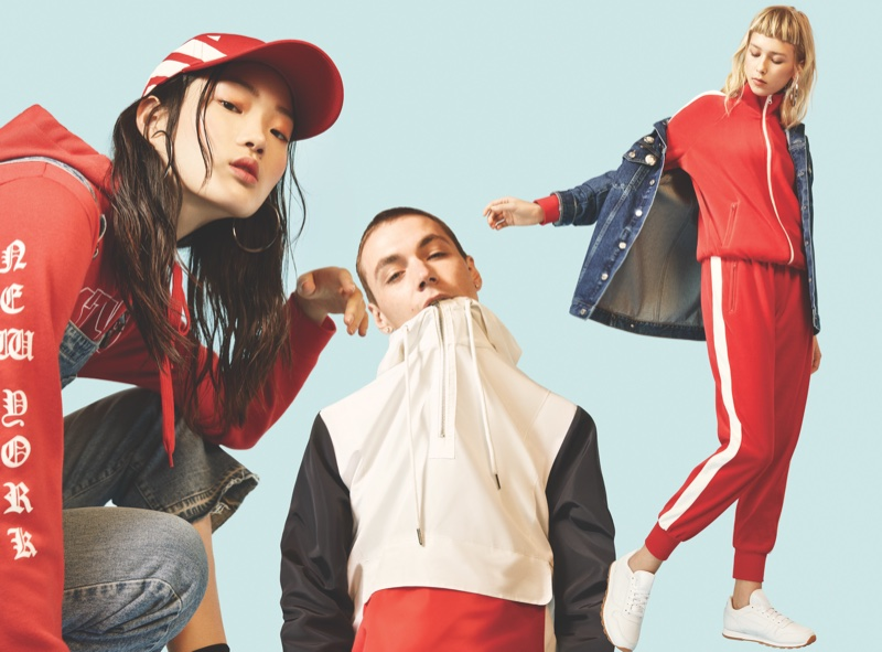 Forever 21 gives sporty vibes in spring 2017 campaign