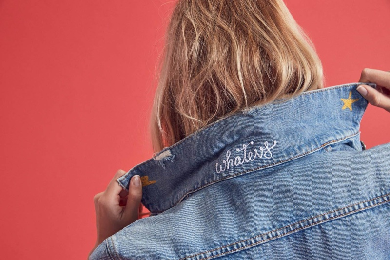 Own Your Jeans: GRLFRND Denim Launches Custom Embroidery