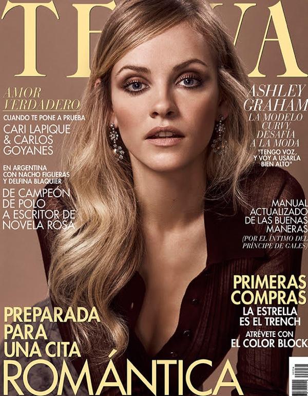 Ginta Lapina Poses in Ladylike Looks for TELVA Magazine