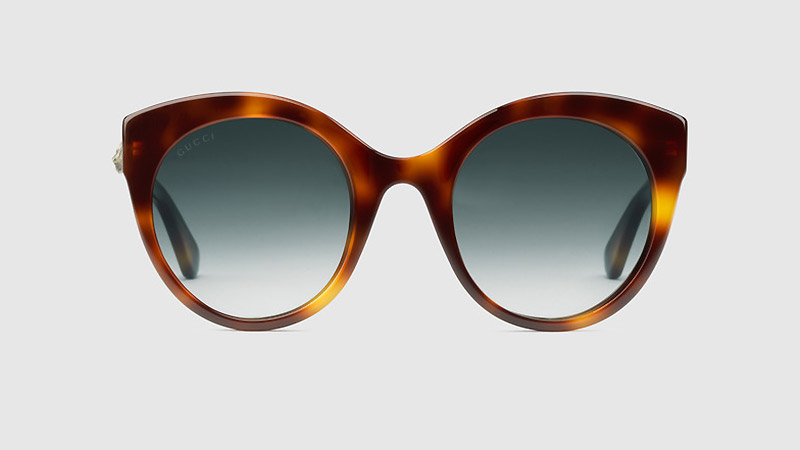 149ef83487aee Gucci Oversize Cat Eye Sunglasses in Tortoiseshell