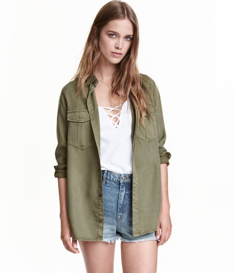 Wish List: H&M's Cool (and Conscious) Utility Shirt