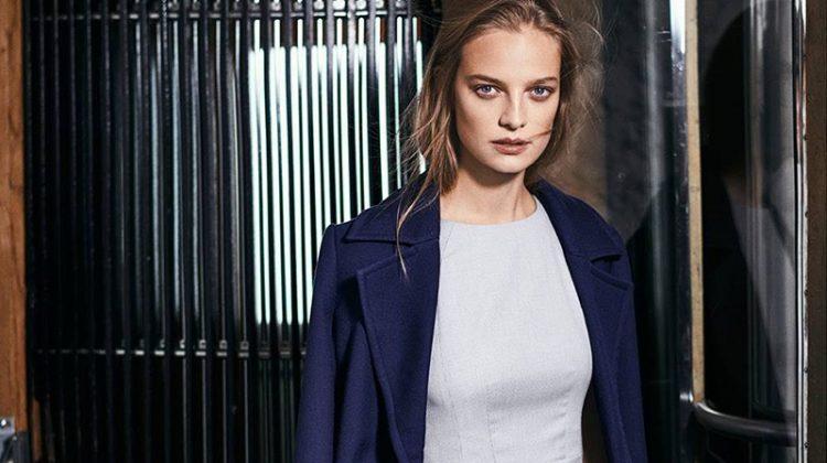 H&M Sleeveless Dress and Coat with Belt