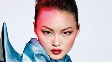 He Cong Stuns in Dior Makeup Looks for Vogue China