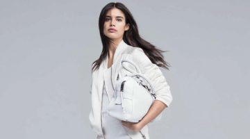 Sara Sampaio Embraces the Sneaker Trend in Hogan's Spring 2017 Campaign