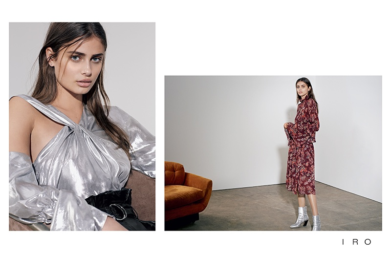 French brand IRO taps Taylor Hill for spring 2017 advertising campaign