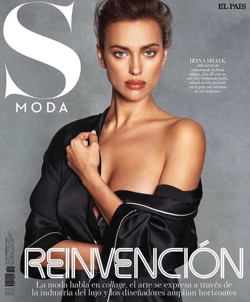 Irina Shayk on S Moda February 2017 Cover