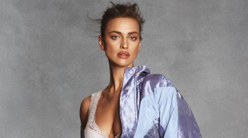 Irina Shayk Charms in Chic Lingerie Inspired Looks for S Moda