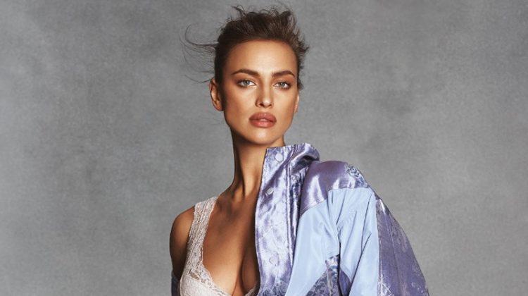 Irina Shayk Charms in Chic Lingerie Inspired Looks for S Moda