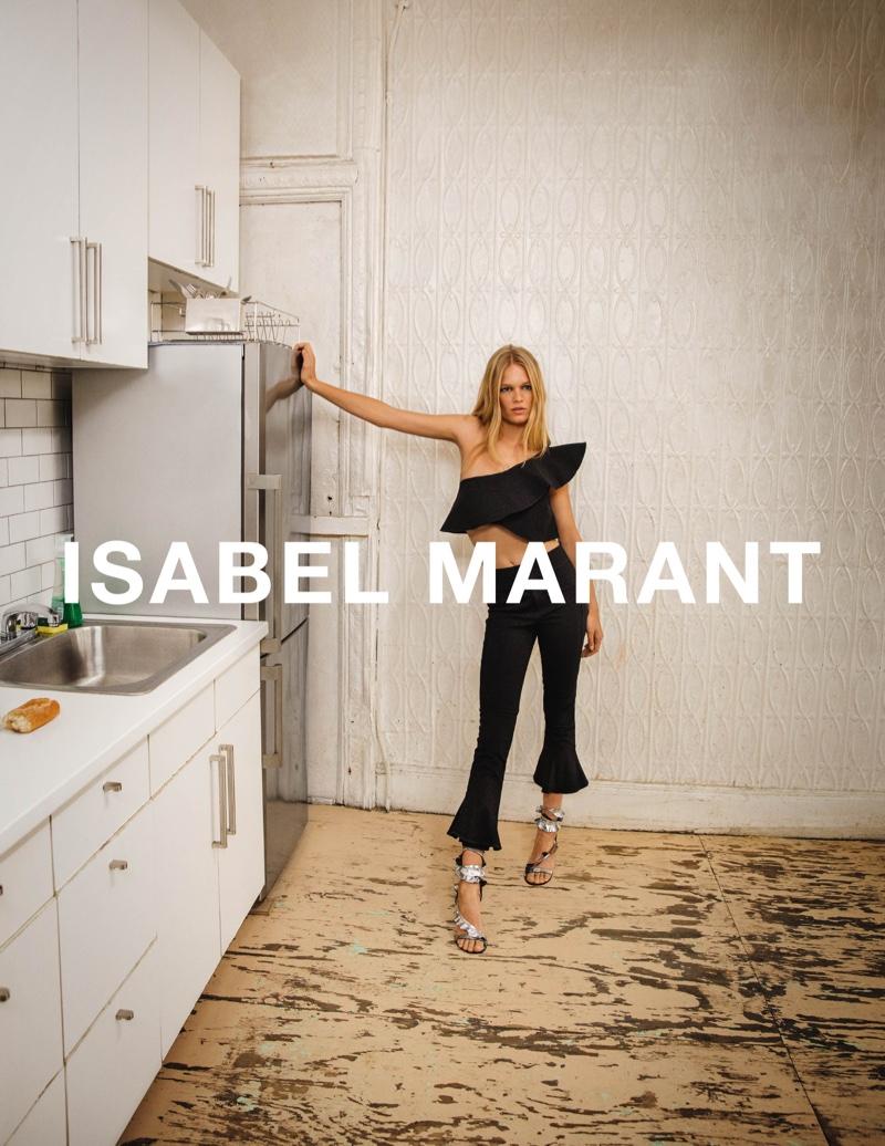 Inez & Vinoodh photograph Isabel Marant's spring-summer 2017 campaign
