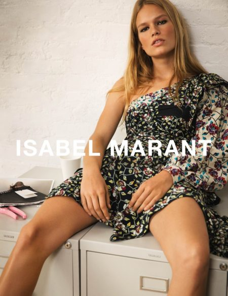 Anna Ewers is Laid-Back Luxe in Isabel Marant's Spring 2017 Campaign