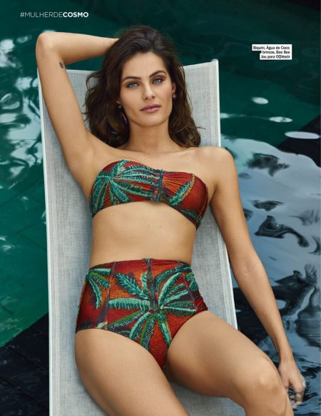 Isabeli Fontana is Ready for Swim Season in Cosmopolitan Brazil
