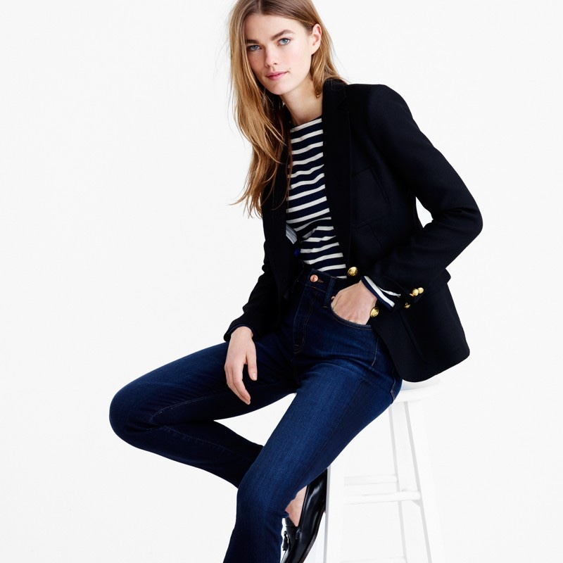 Slim and tailored, J. Crew's Rhodes Blazer is a smart option