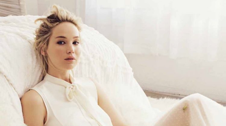 Jennifer Lawrence Stuns in Dior for Marie Claire France