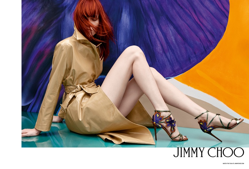 Kiki Willems Fronts Jimmy Choo's Spring 2017 Campaign